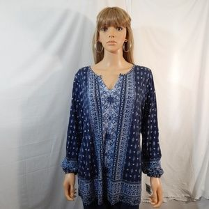NWT NEW Style & Co Size 0X XL Top Shirt Blouse